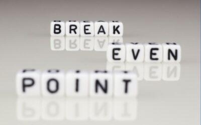 Break Even Point: Quanto devi vendere per coprire i costi e cominciare a guadagnare?